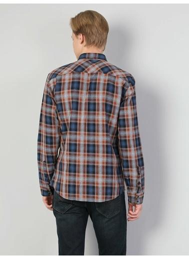 Colin's Colin'S Uzun Kollu Shirt Neck Pamuklu Normal Kesim Erkek Gömlek Renkli